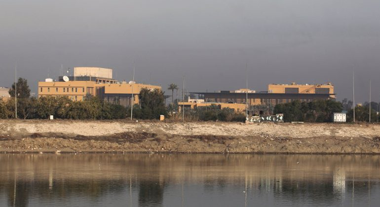 Three rockets fired at US embassy in Baghdad - Iraqi Army