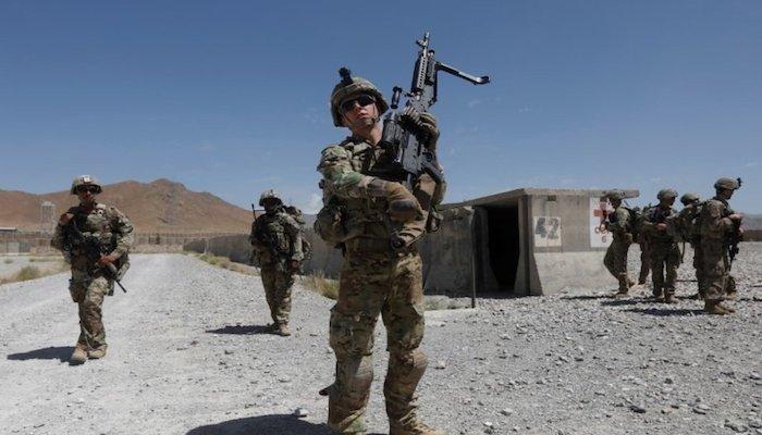US Troop Withdrawal From Afghanistan 90% Complete