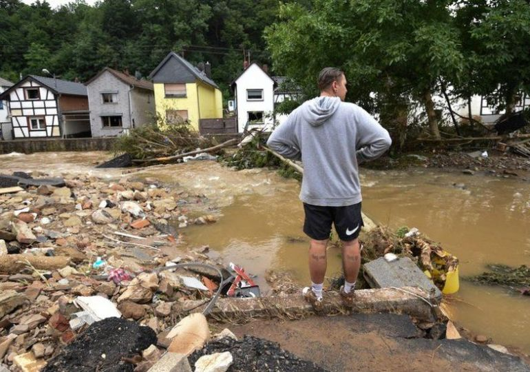 Climate change: Europe's extreme rains made more likely by humans