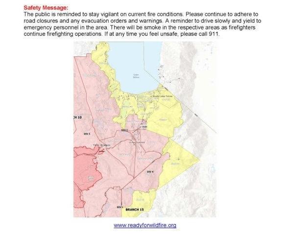 Caldor fire news - Caldor fire map - Caldor fire evacuation map