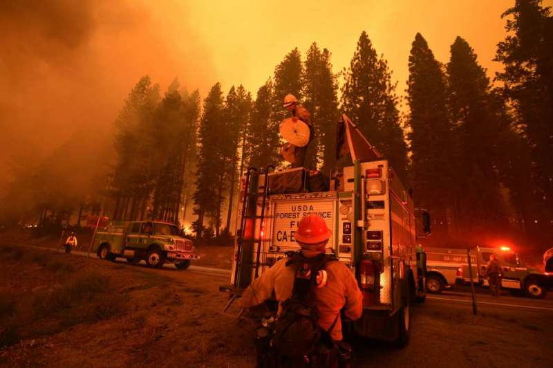 Caldor fire news - latest from California wildfires as the fires rage on through the night to cause havoc for those trying top escape.