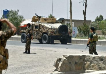 Afghan forces bomb Taliban in bid to halt advance on cities