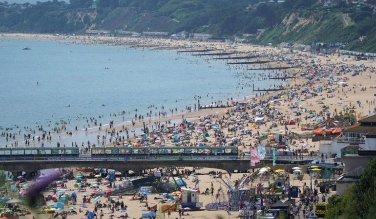 17 people rescued after being swept out to sea in Bournemouth