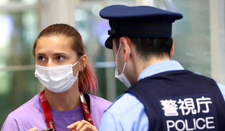 Belarus sprinter safe under Tokyo police protection after refusing to go home