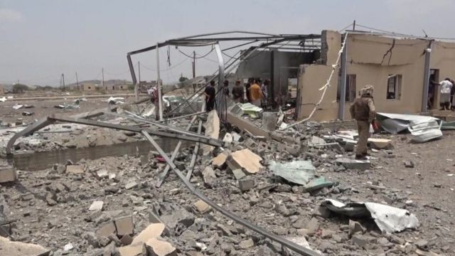 At least 30 killed in Houthi drone, missile attack on Yemen airbase