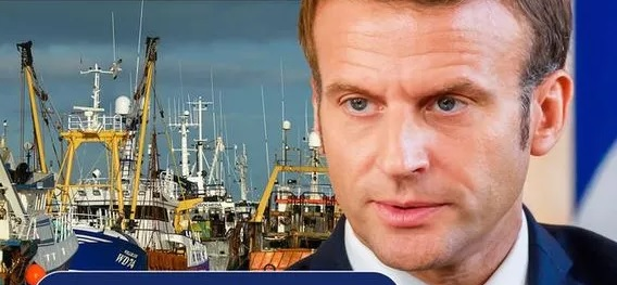 Stubborn Macron demands EU orders UK to accept hated fishing deal
