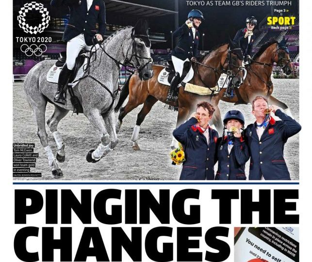 The Metro - 'pinging the changes'