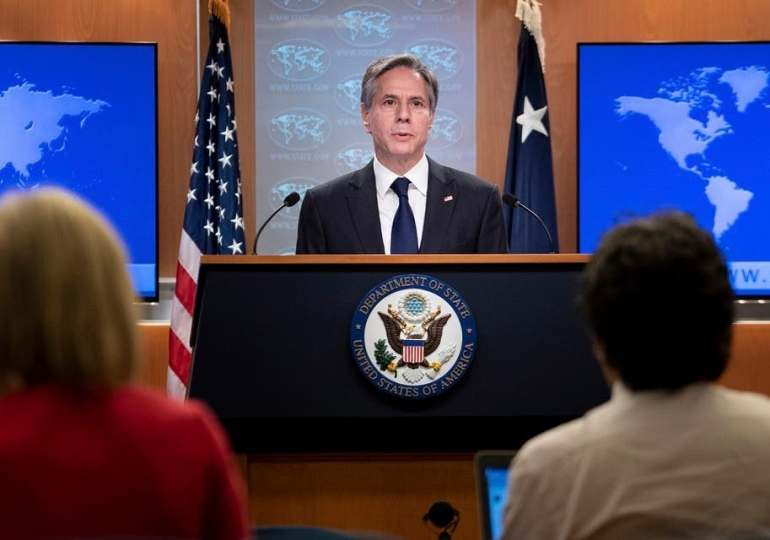 US vows 'collective response' to Iran after ship attack