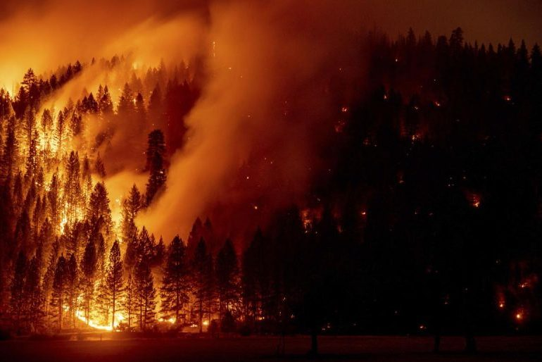 No containment, new threats from Northern California fire