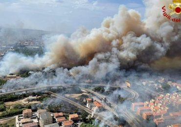 Europe fires map: Where wildfires are raging across Turkey, Rhodes, Greece and Italy after extreme heatwave