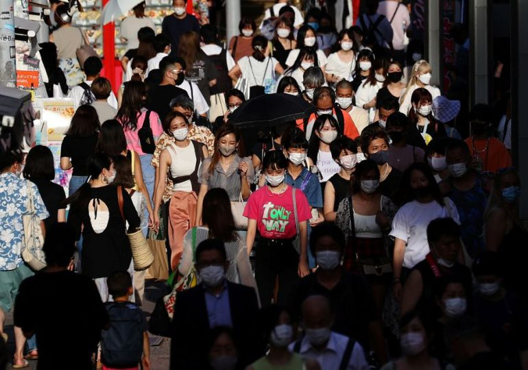A covid surge in Japan & slow rollout is hurting the young