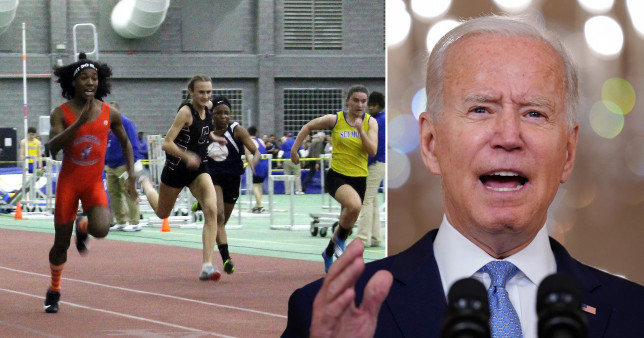Biden administration sued by 20 states for letting biological males compete in girls' sports
