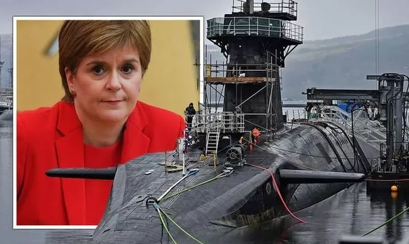 UK hatches secret strategy 'to relocate nuclear belows from Scotland' if SNP safeguards freedom