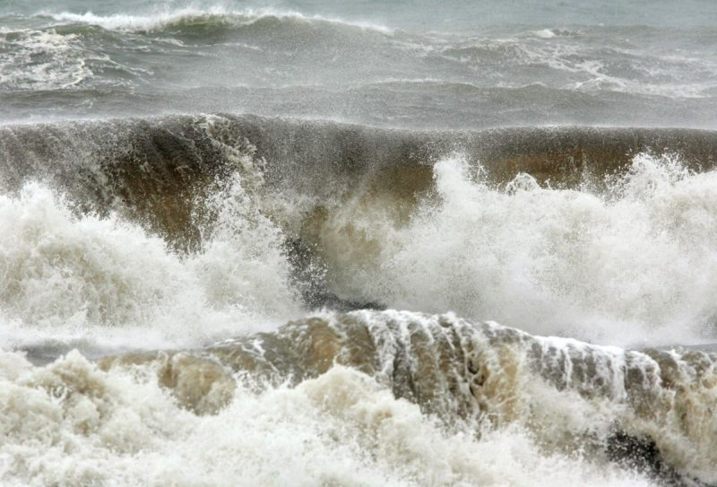Nine drown in sea during French storms