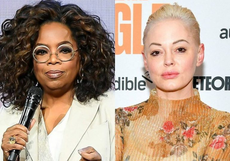 Rose McGowan rips into Oprah in scathing rant