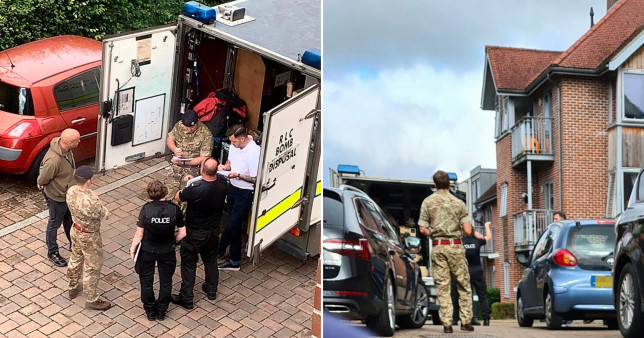 Homes evacuated as terror police arrest man, 25, over 'explosives offences'