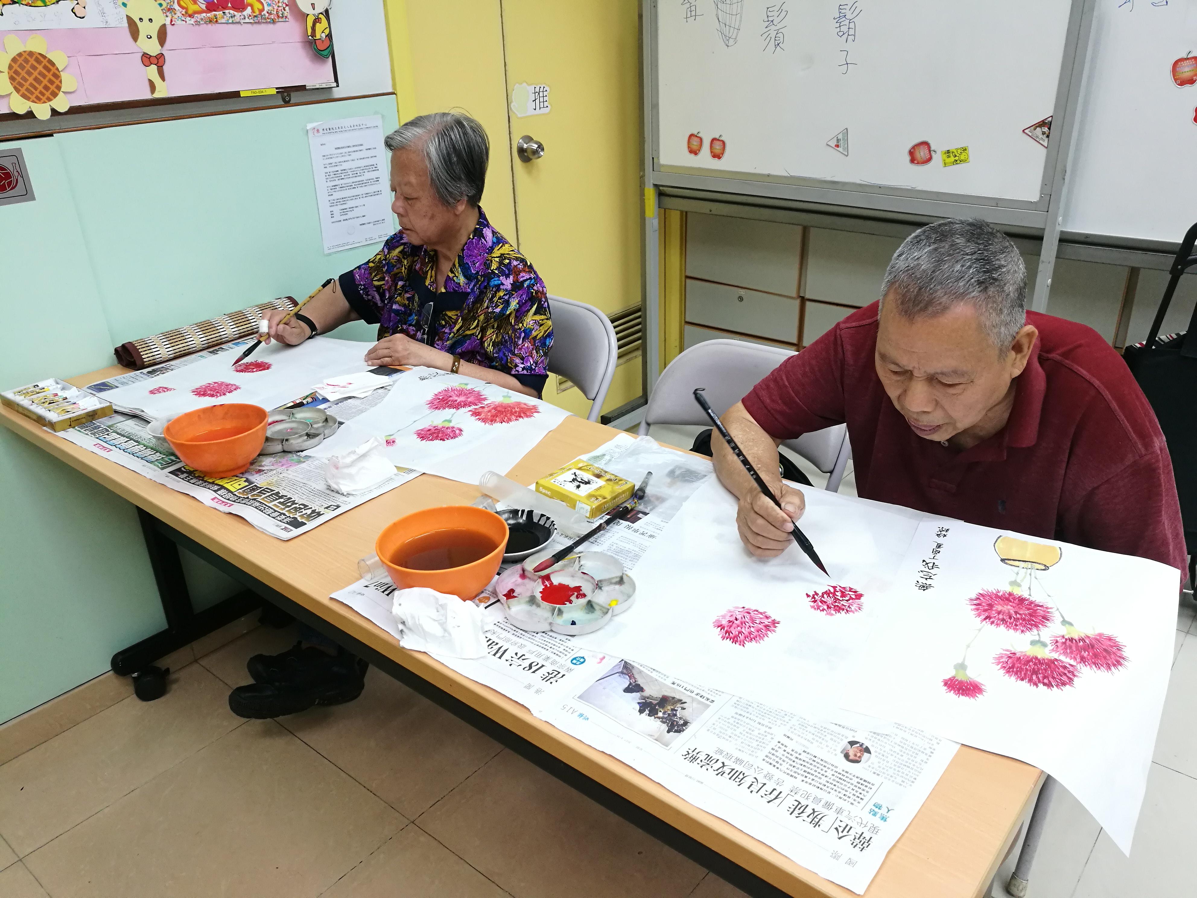 社交康樂服務   博愛醫院王東源夫人長者地區中心