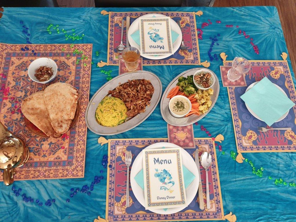 Aladdin DIsney Dinner