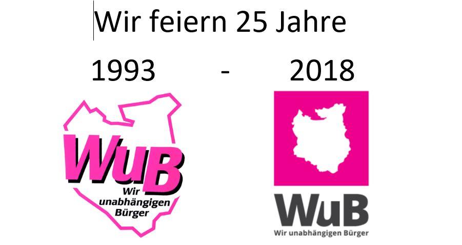 Wir feiern 25 Jahre WuB