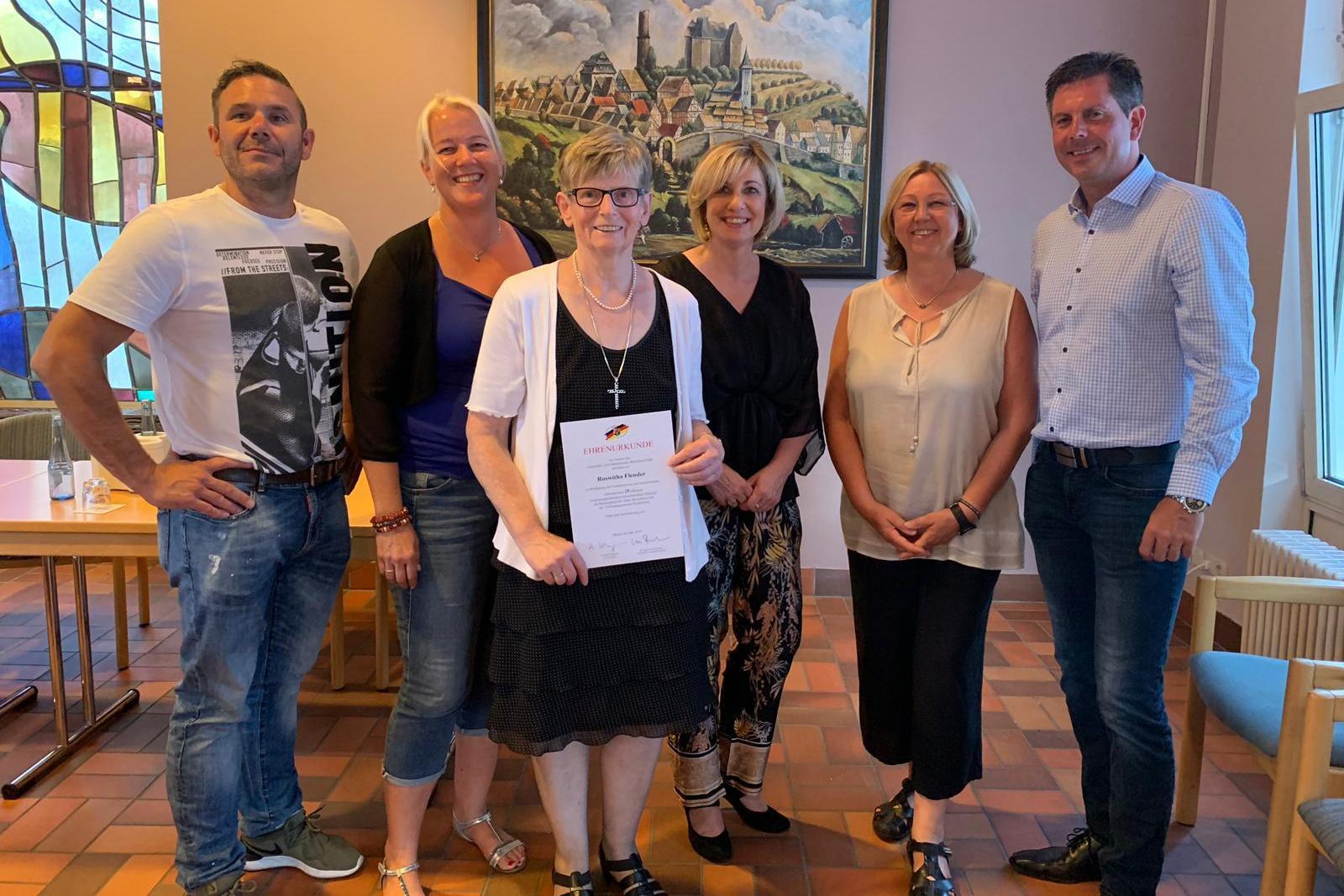 Unsere neue WuB Fraktion im Stadtrat Westerburg,