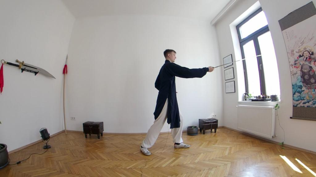San Feng Tai Ji Jian (Tai Chi Sword) Episode 6