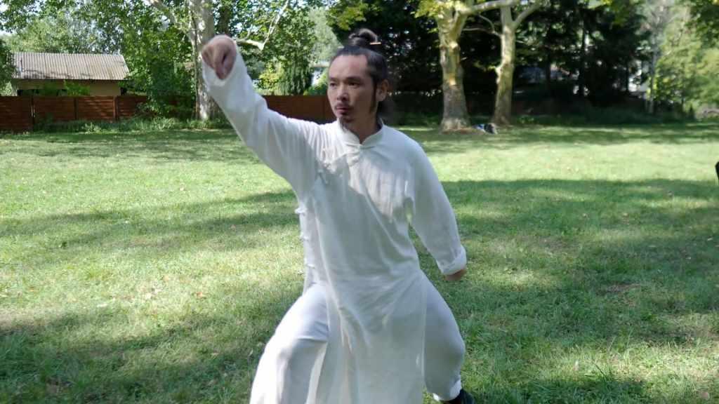 Repeating All Basic Fajin Movements of Tai He Quan