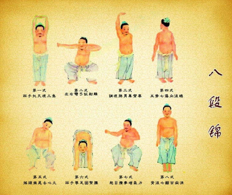 Eight Section Brocade Qi Gong