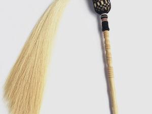 Traditional Wudang Horsetail Whisk Fuchen
