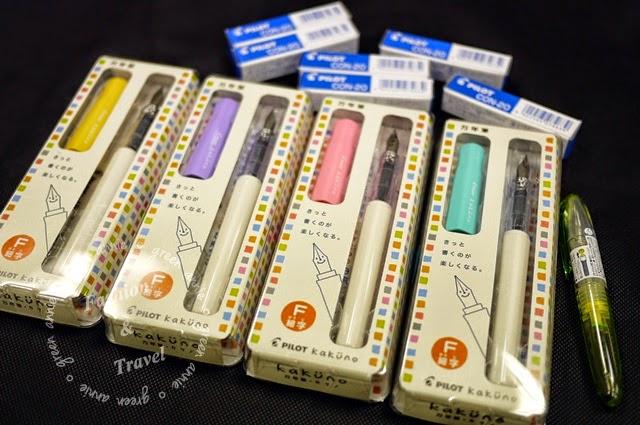 PILOT微笑鋼筆,F尖&啾咪鋼筆F尖+CON-20吸墨器