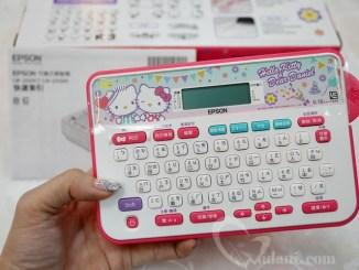 【生活】Epson Hello Kitty & Dear Daniel LW-220DK標籤機~內建圖型更多更可愛,標籤膠帶選擇更多元…簡單豐富每一天 @吳大妮。Annie