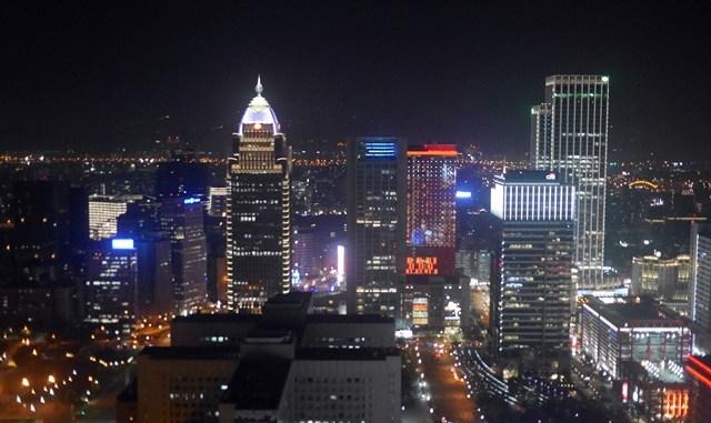 台北101,35樓星巴克~享受眺望台北街頭夜景的小確幸~ @吳大妮。Annie