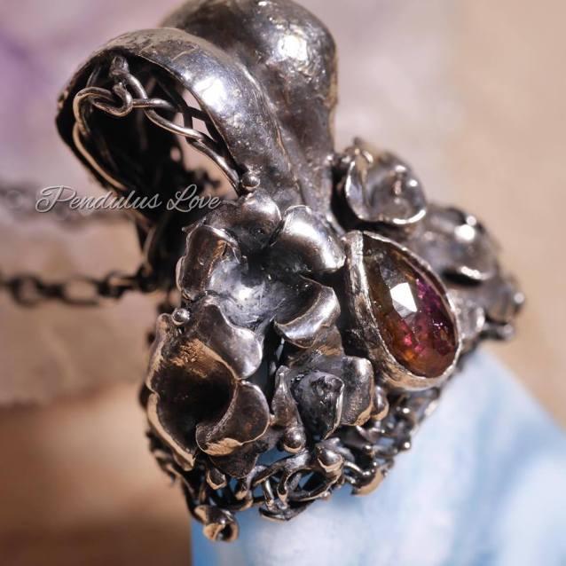 JS Jewelry手做金工的夢幻飾品,療癒石拉利瑪(Larimar)