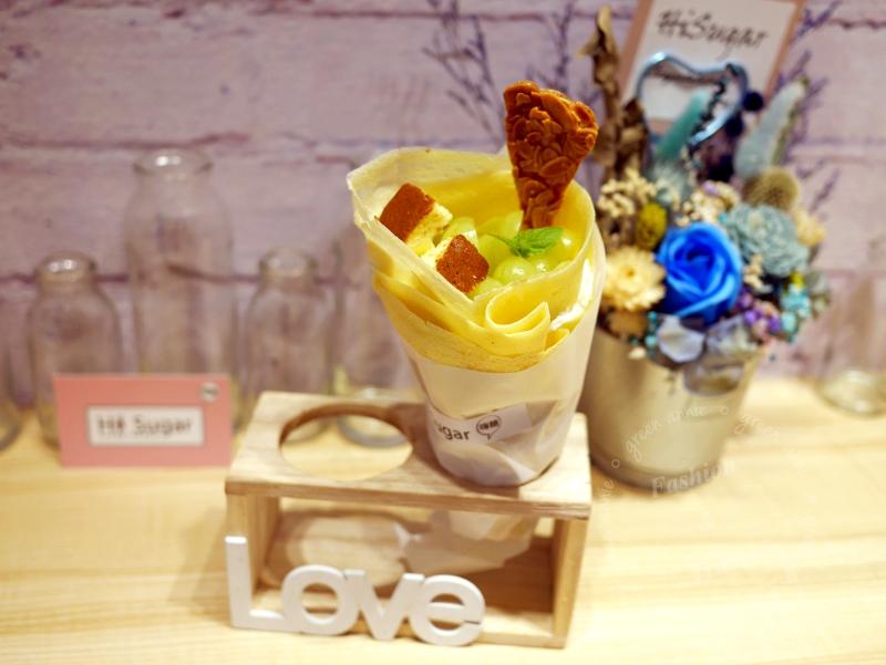 HiSugar:嗨糖日式可麗餅&棉花糖紅茶 ,可愛小店IG打卡好去處@捷運中山站