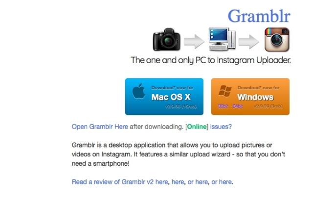 利用Gramblr就可以使用電腦上傳Intagram貼文囉