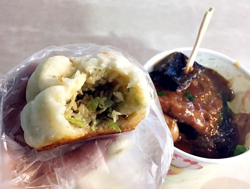 華榮市場口甜不辣,&水煎包@士林中正路