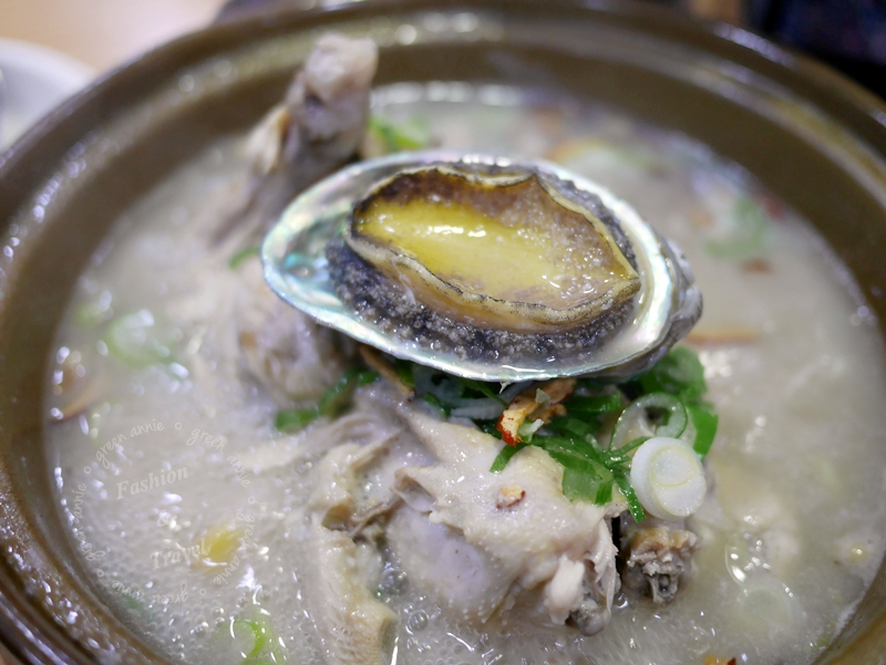釜山海雲台傳說中的蔘雞湯해운대 소문난 삼계탕~大推鮑魚蔘雞湯