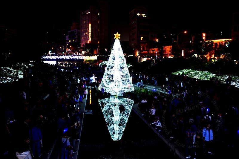 2017-台中柳川-聖誕節