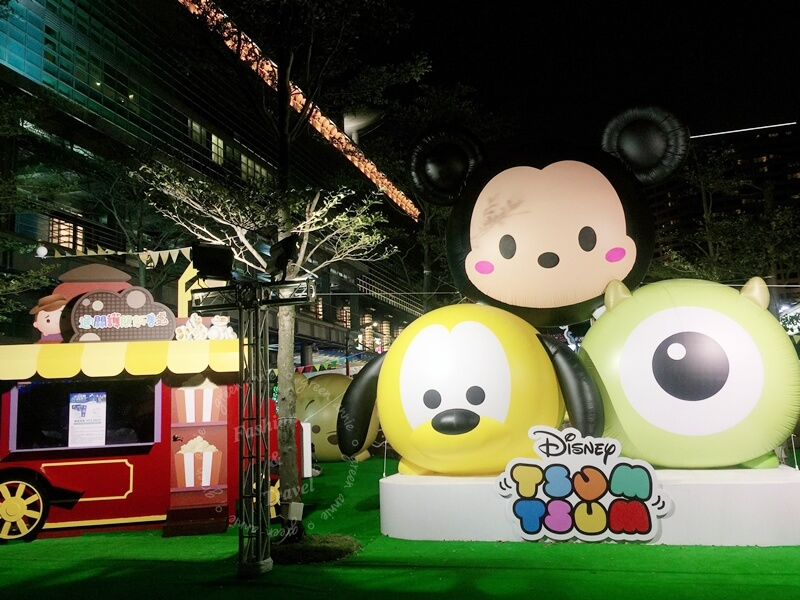 Hisugar嗨糖,將在2/12至3/4台北101水舞廣場TSUM TSUM派對嘉年華與大家見面~