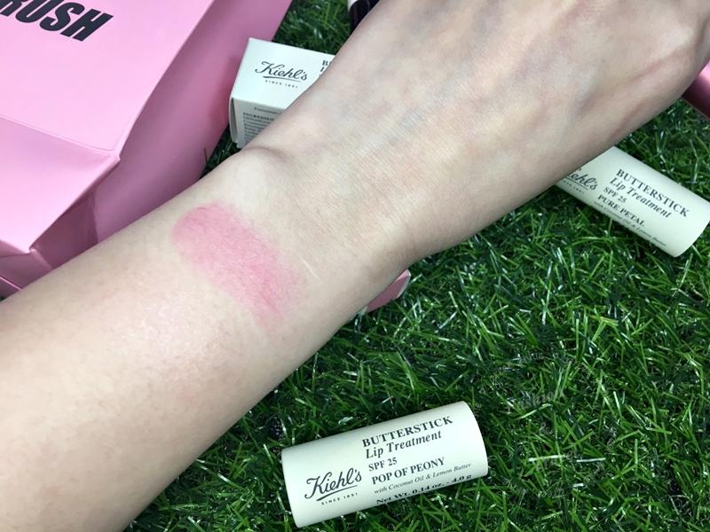 Kiehl's - PinkCrush檸檬奶油護唇膏亮桃紅與櫻花粉
