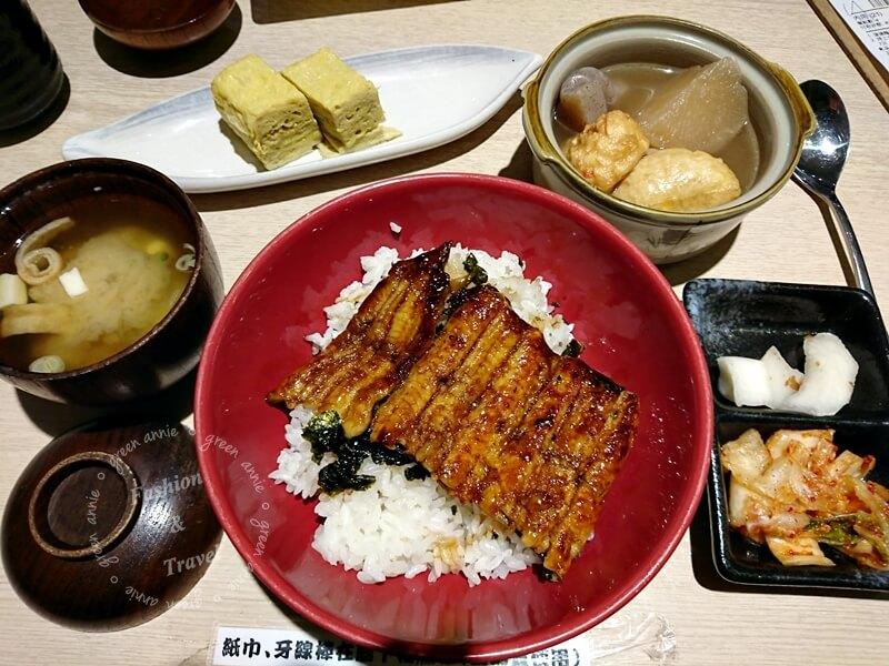 鰻將劍持屋Unashow ,SOGO復興店~愛吃烤鰻魚的朋友可以來試試