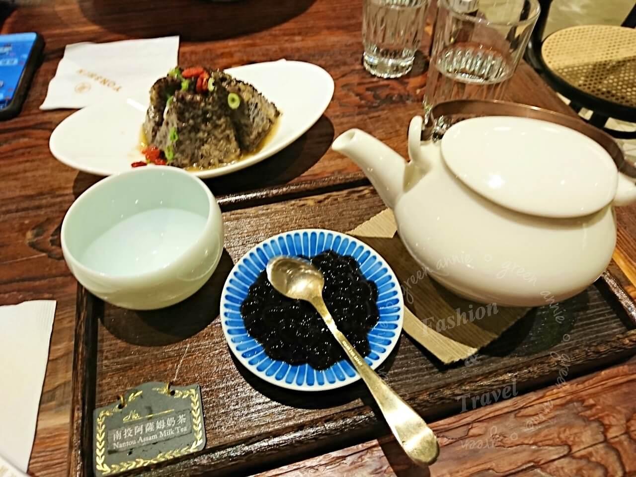 信義微風永心鳳茶,在復古文青空間享用於台灣在地好茶,餐點也很好吃
