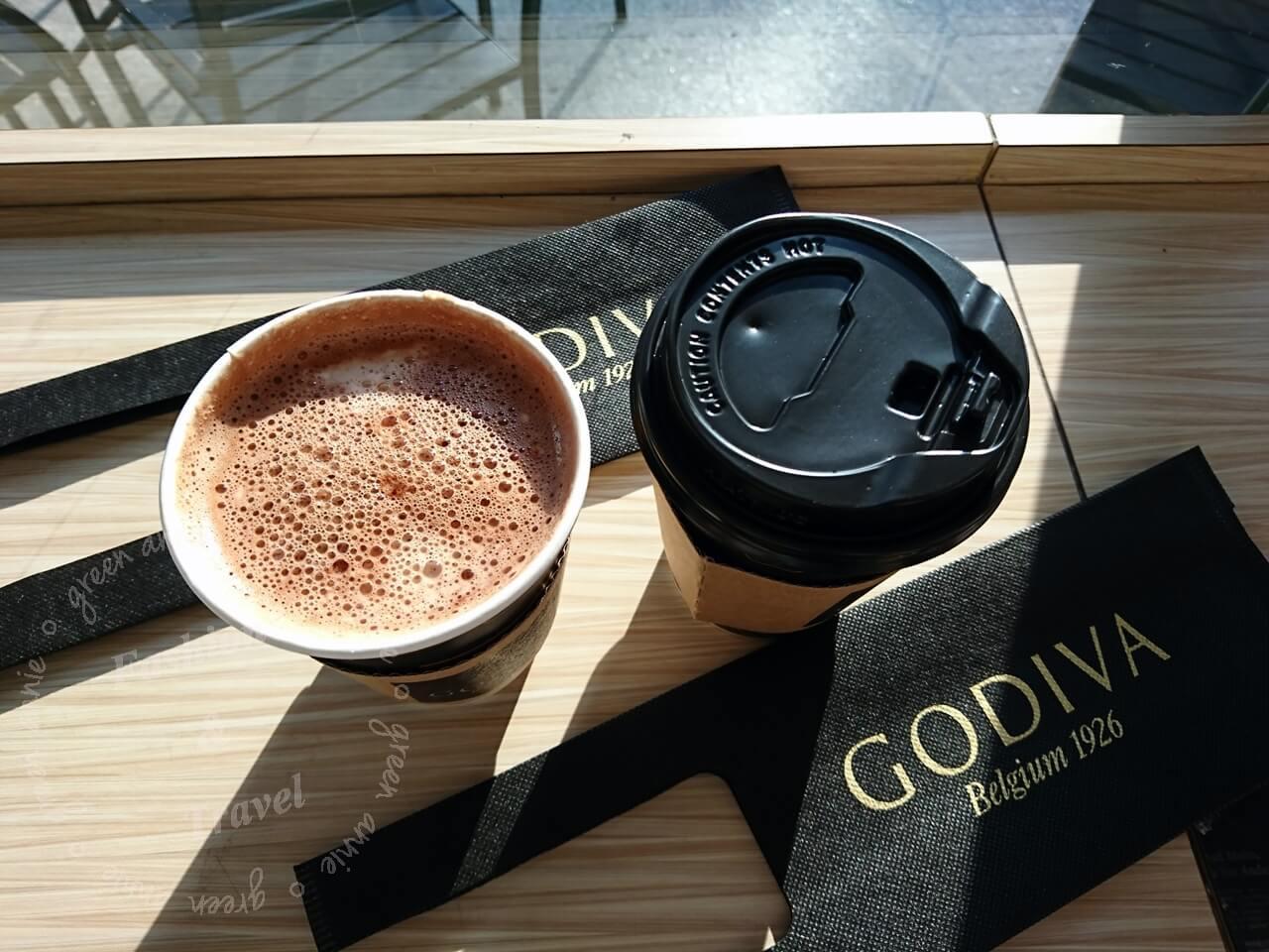 「GODIVA醇黑熱巧克力」7-ELEVEN12/5限量開賣