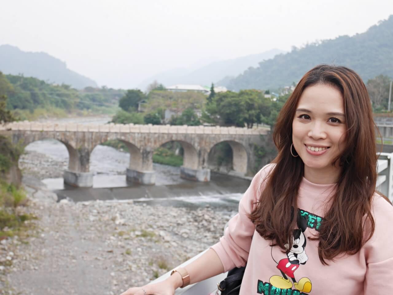 南投國姓鄉賞梅行程,還可以搭配手沖咖啡、爆米香DIY活動和參觀三級古蹟糯米橋及三百年茄苳樹