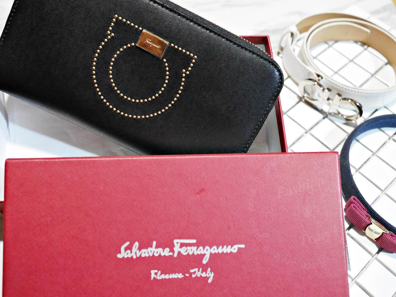 購入人生第一個Salvatore Ferragamo皮夾