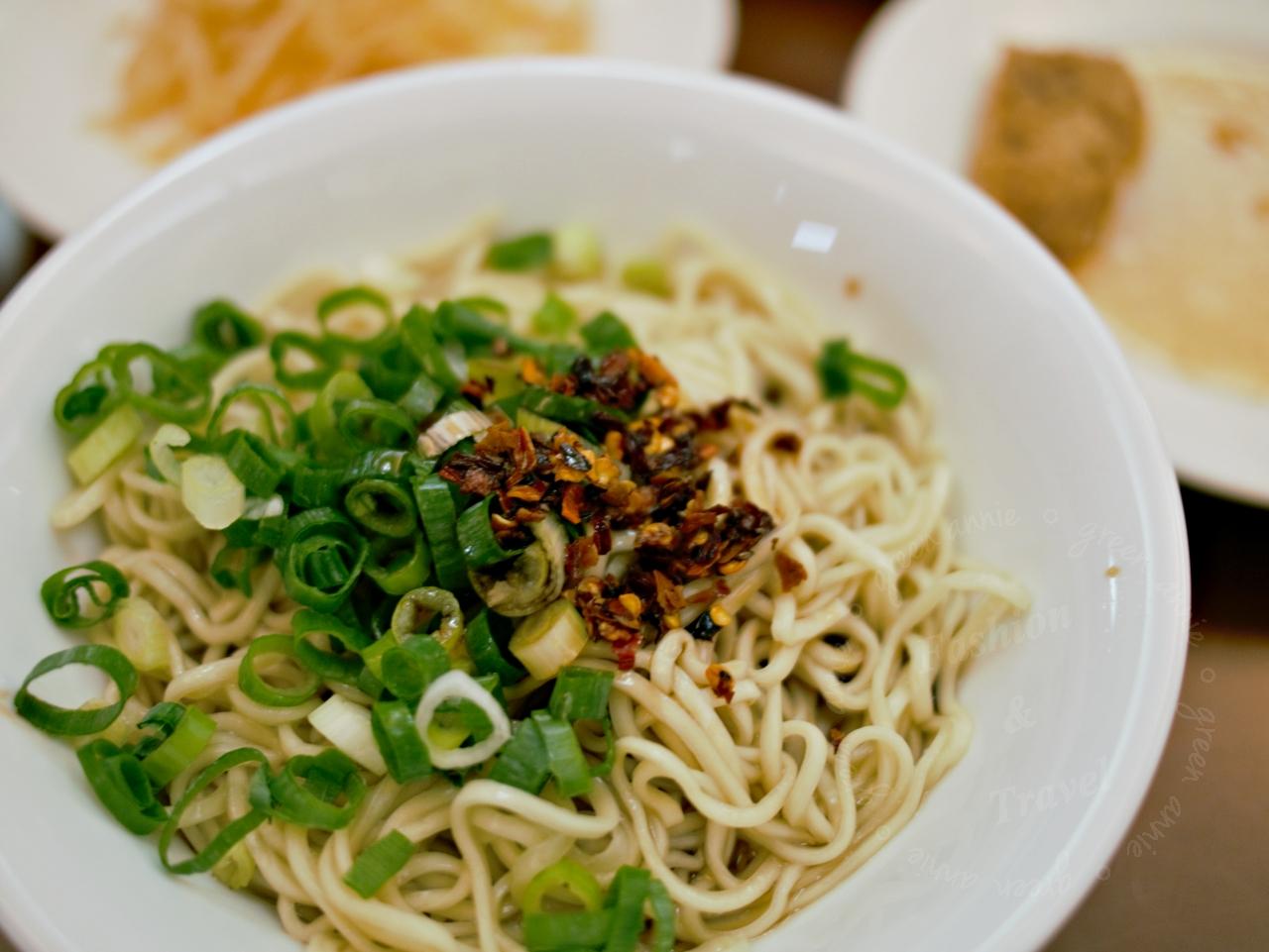 內湖美食:西湖市場內的宜品福州乾拌麵,簡單的幸福滋味