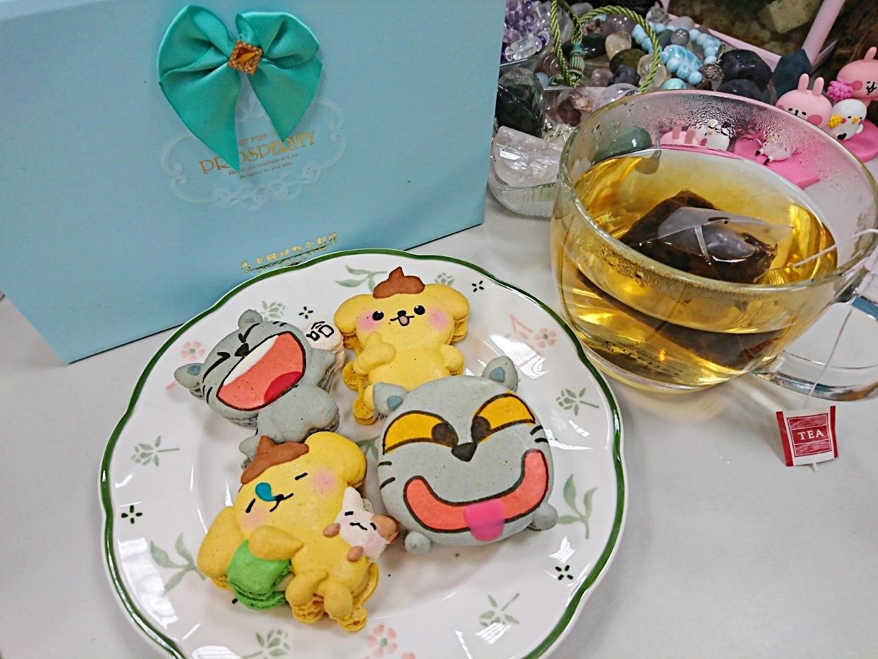 馬卡猴甜點企劃部,客制化可愛馬卡龍~送禮好選擇