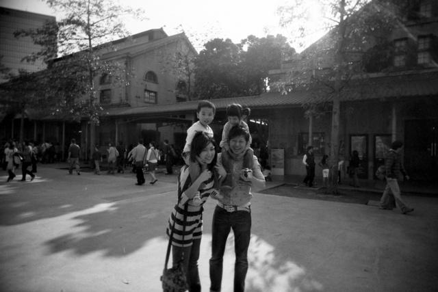 【隨手亂拍】MY B&W PIC @吳大妮。Annie