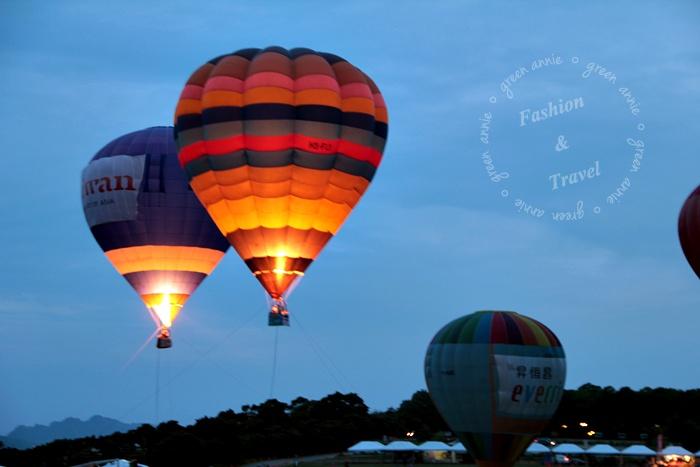 2012傍晚版熱氣球