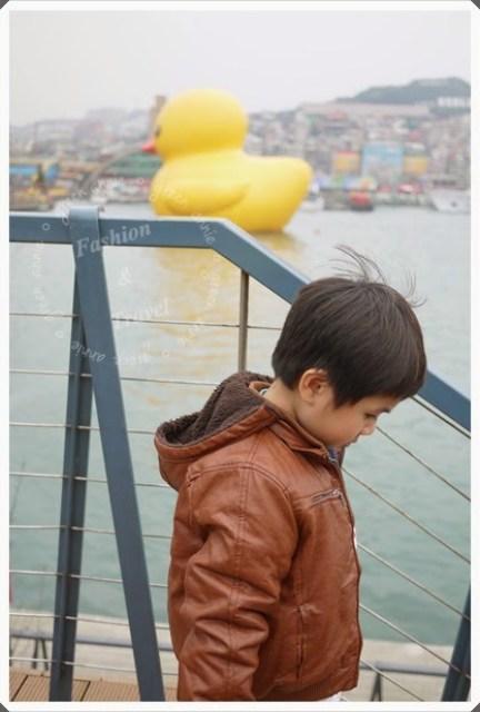 【生活】用基隆黃色小鴨迎接2014 @吳大妮。Annie