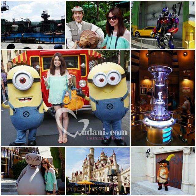 【新加坡遊記】環球影城讓人玩一整天也不厭倦 @吳大妮。Annie